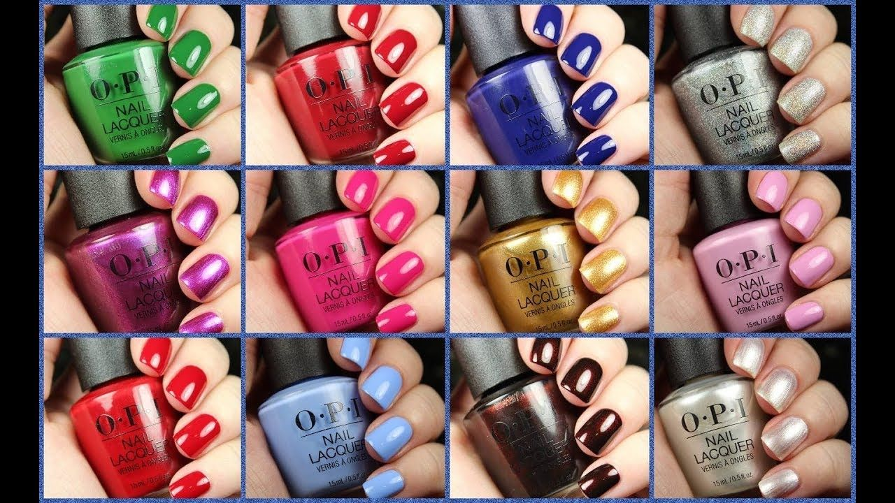 Opi The Nutcracker And The Four Realms Opi The Nutcracker And The Four Realms Holiday 2018 Youtube Nail Polish Opi Manicure