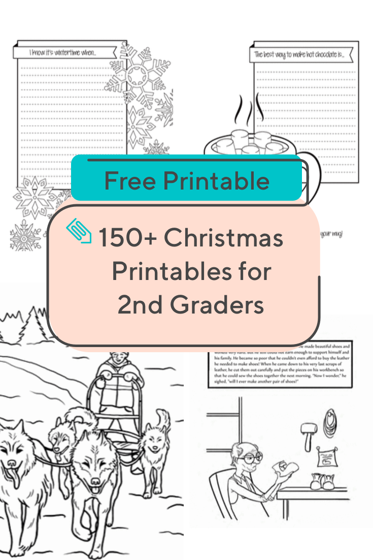 hight resolution of Help your second grader get into the holiday spirit with this collection of Christmas  worksheets. …   Christmas worksheets