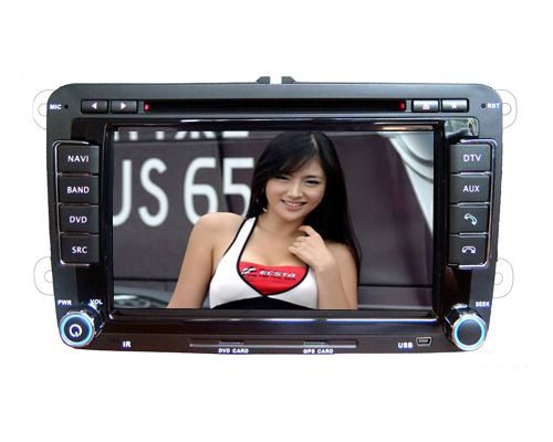 Skoda Fabia DVD Player with GPS Navigation Touchscreen CAN