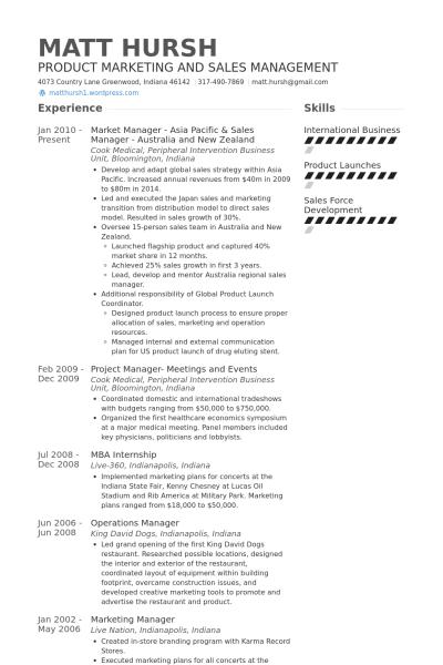 Resume Format New Zealand