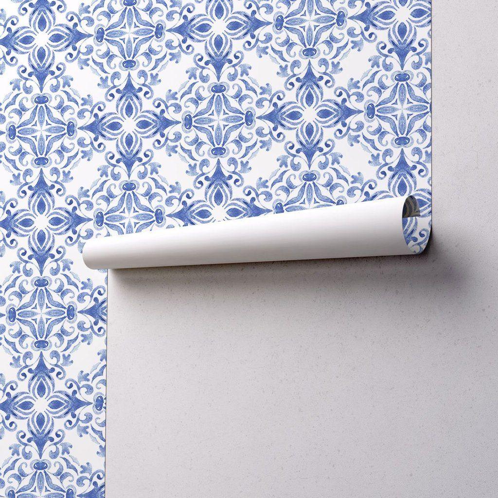 Tile Wallpaper 063 in 2020 Removable wallpaper, Peel