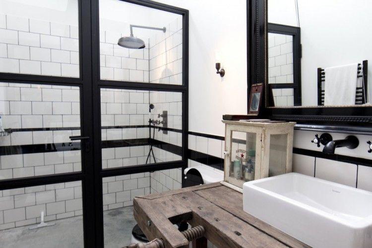 1000 images about salle de bains style industriel on pinterest studios uxui designer and vintage - Salle De Bain Type Industriel