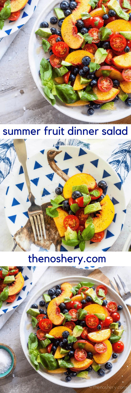 Summer Fruit Dinner Salad Recipe Fruit Dinner Dinner Dinner Salads
