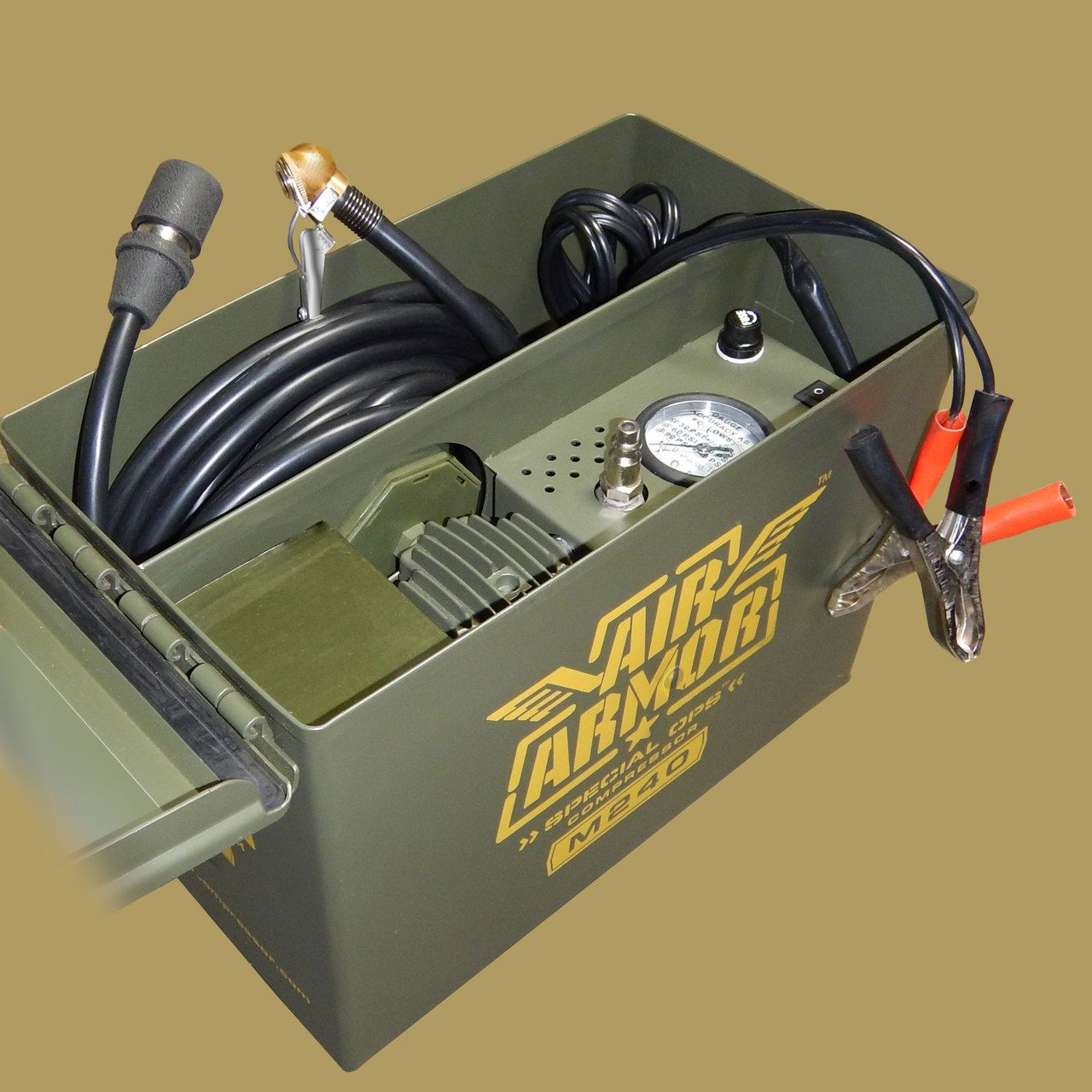 Tire Inflator Air Armor M240 Ford trucks, Ammo cans, Trucks