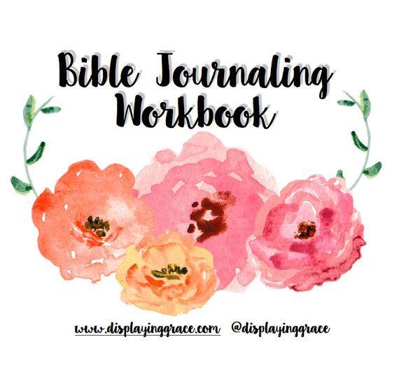 Bible Journaling Workbook PDF | Bible Studies | Bible reading