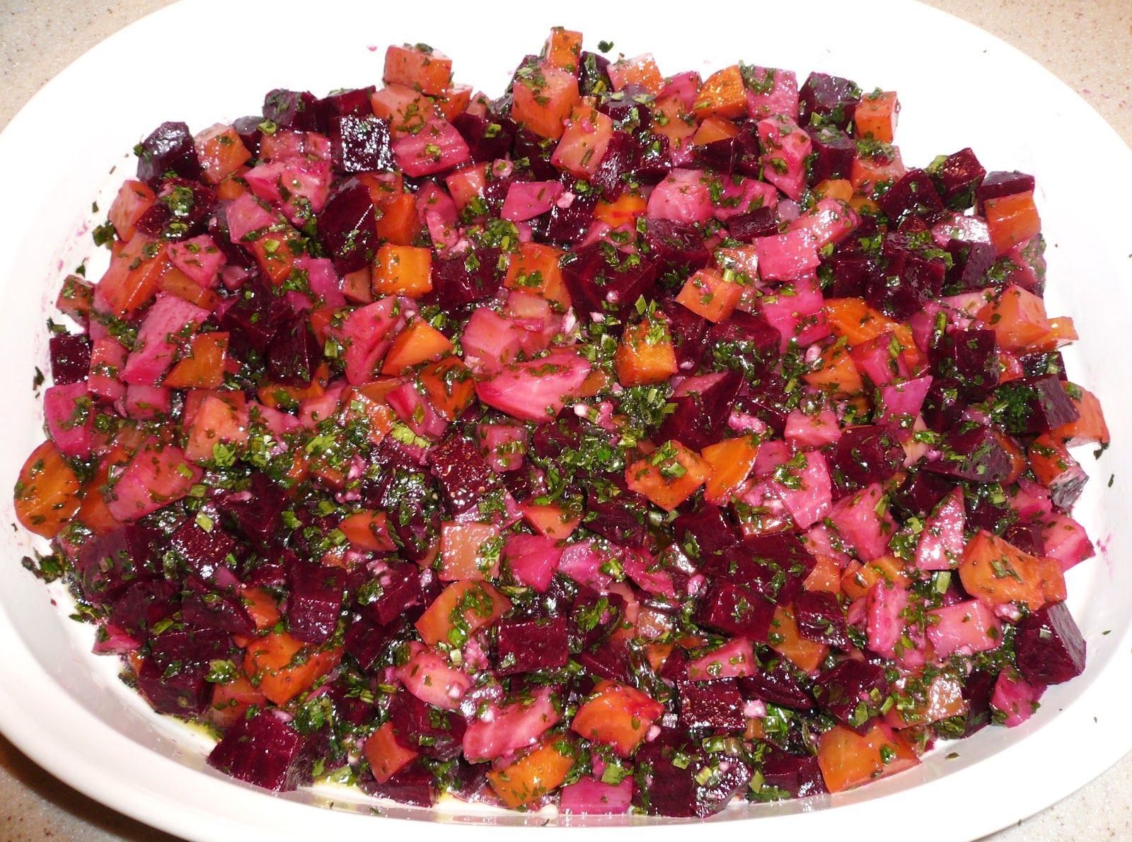 KITCHEN EXCURSIONS: Middle Eastern Roasted Beet Salad