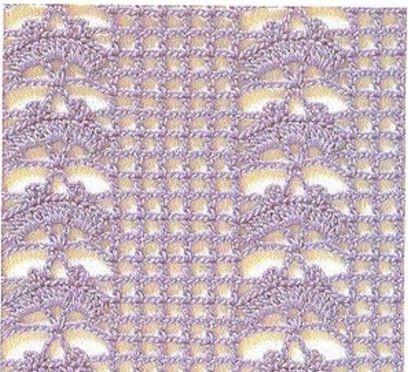 20 Patrones de Puntos ~ Puntadas Crochet / Calados   Patrones de ...