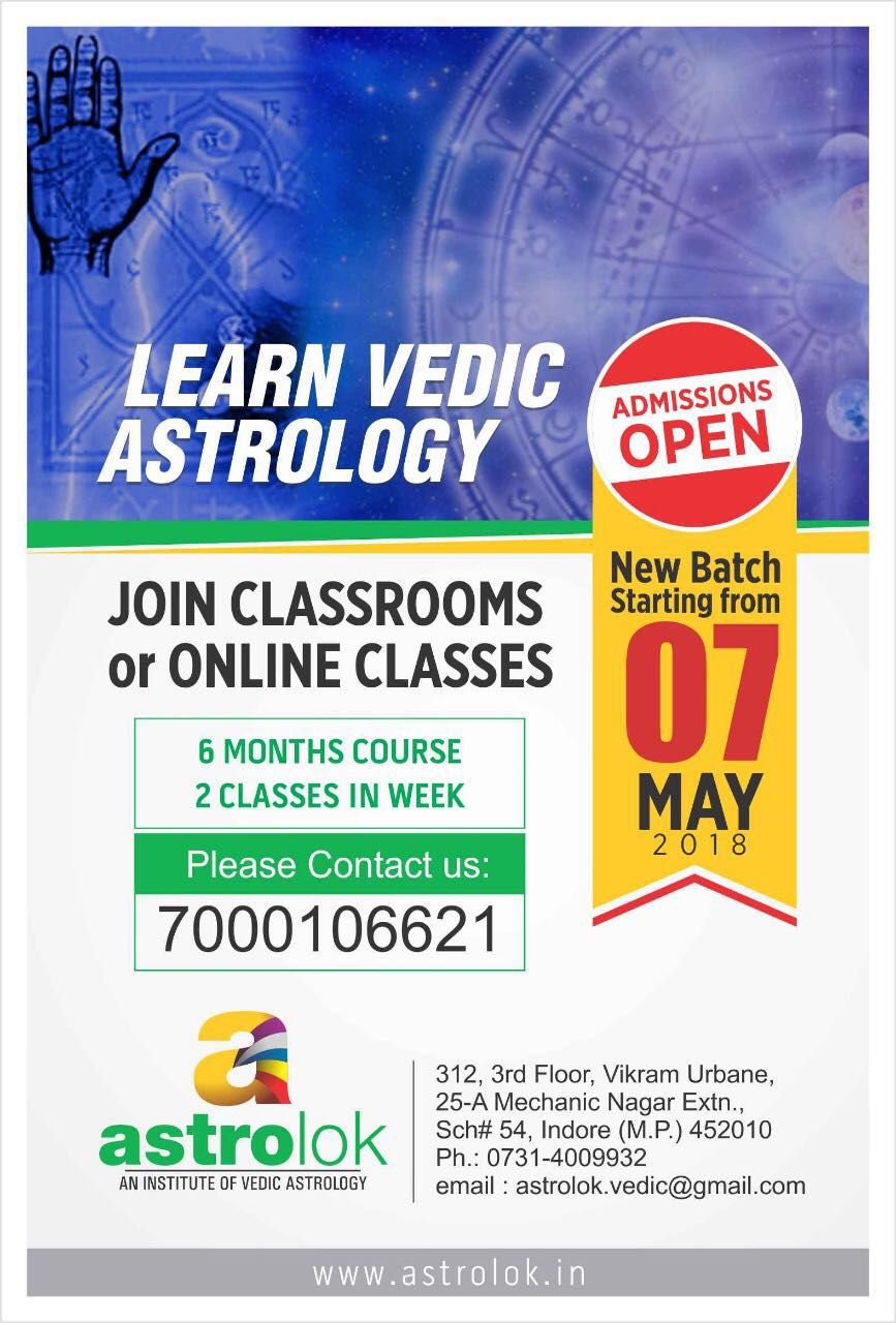 Astrology online course by Institute of Vedic Astrology