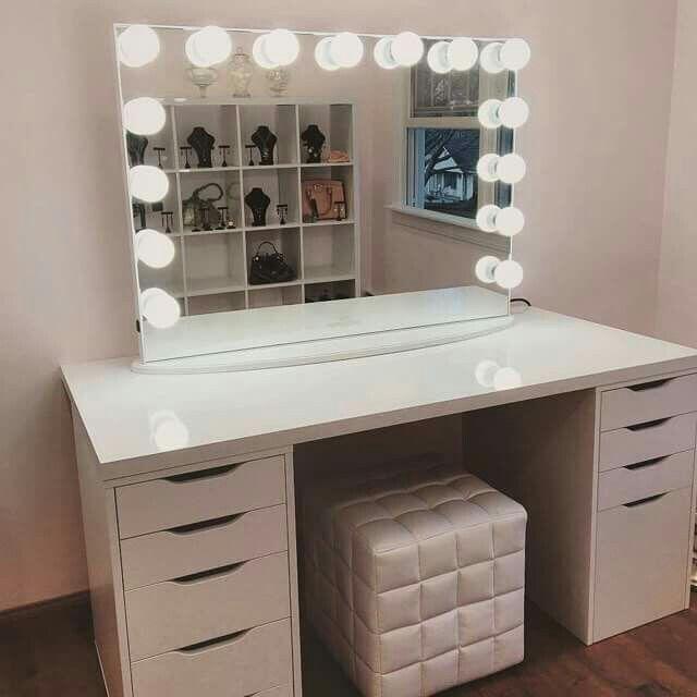 pingl par hilda renteria sur vanity pinterest beaut et id e. Black Bedroom Furniture Sets. Home Design Ideas