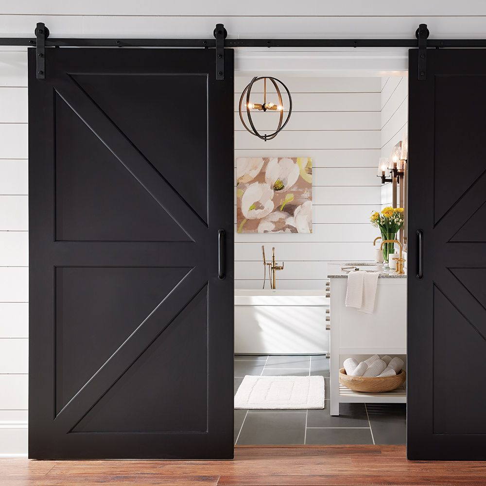 Ufp Edge 1 In X 6 In X 8 Ft Charred Wood Shiplap Pine Board 4 Pack 291254 The Home Depot In 2020 Inside Barn Doors Indoor Barn Doors Shiplap Accent Wall
