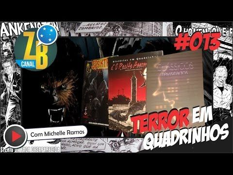 Zine Brasil - CANAL ZB #013 - Terror - Spektro - Recife Assombrado - Monstros Noir - YouTube