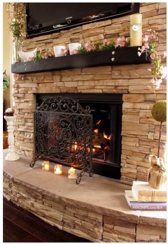 gas insert with stone wall | Do we need to frame it first to make ...