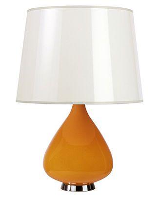 Jonathan Adler Capri Table Lamp Orange Lighting Lamps For The Home Macy S Lamp Orange Table Lamps Table Lamp