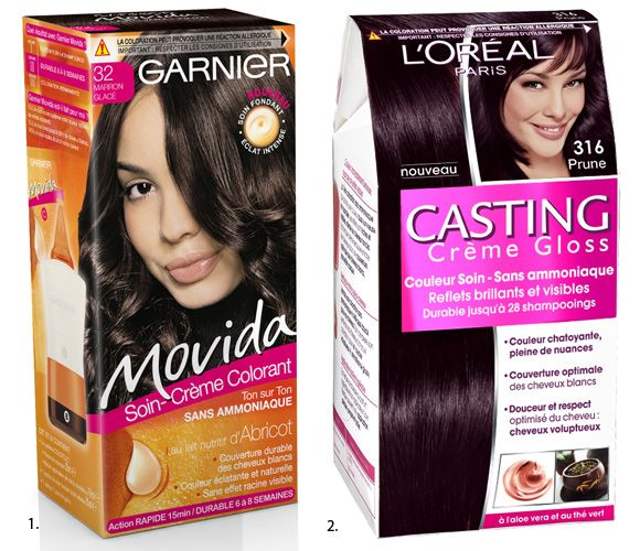 coloration_movida_garnierjpg 580500 packaging coloration pinterest - Coloration Permanente Sans Ammoniaque