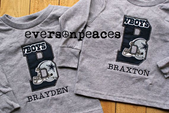 704f979d DALLAS COWBOYS PERSONALIZED Toddler and Kids by eversonpeaces ...
