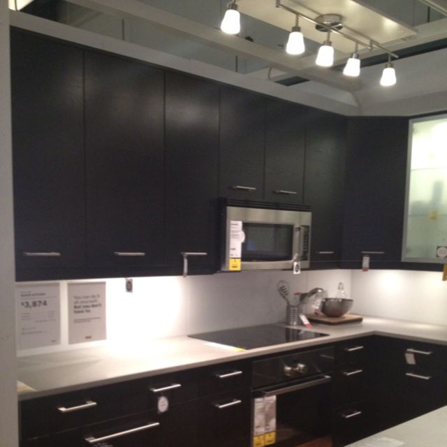Ikea Kitchen Cabinets Nexus In Brown Black Love This For The