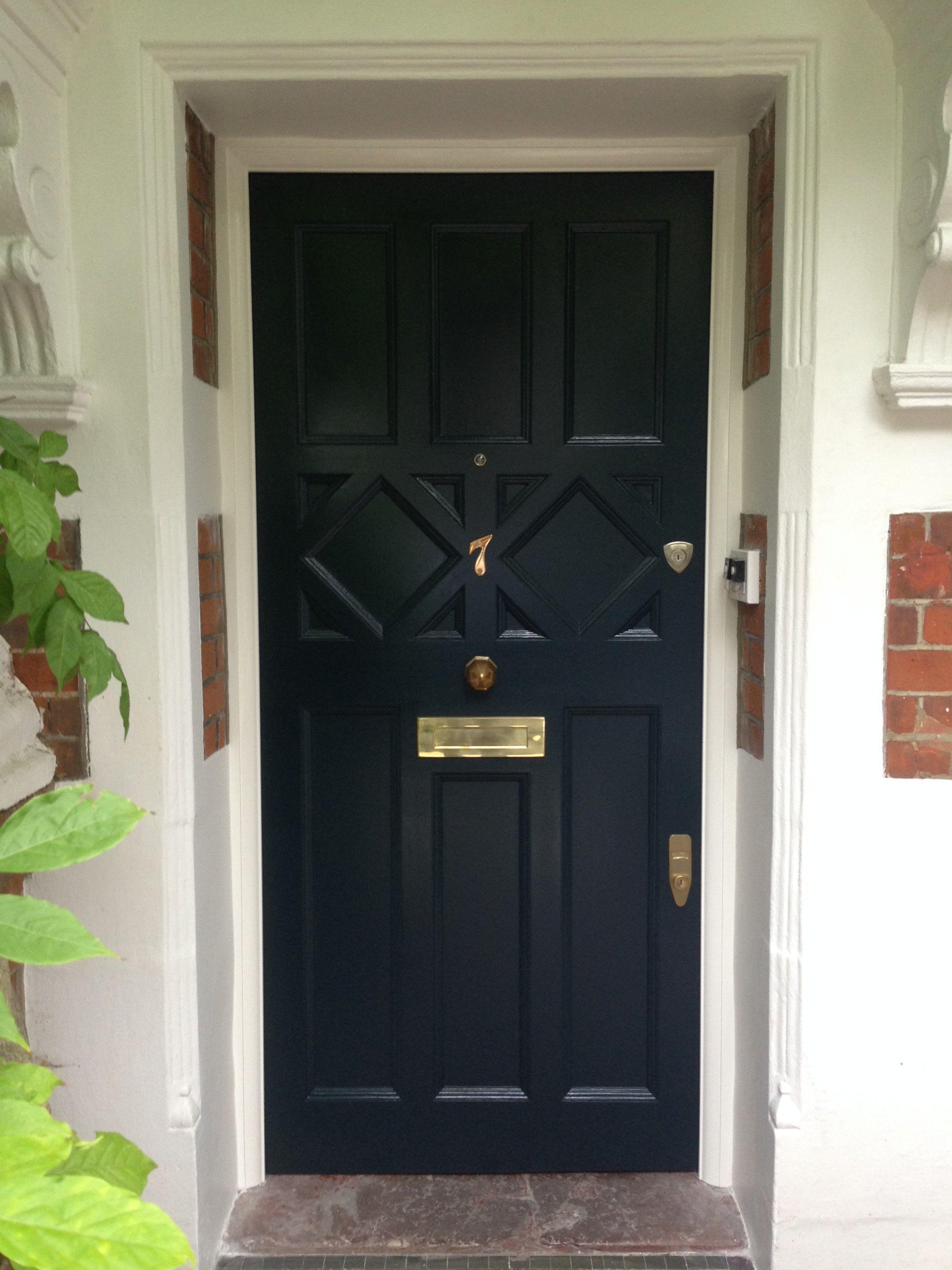 Arts and crafts front door in south west London | Doors | Pinterest ...