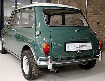 3c9dc0e3500 For Sale - Lux Classics - 1964 Austin Cooper S Almond Green ...