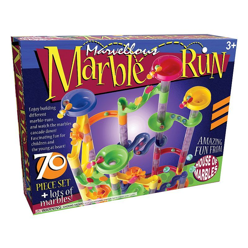 Marvellous Marble Run 70 Pc Set By House Of Marbles Marble Bag Toy Store Marble