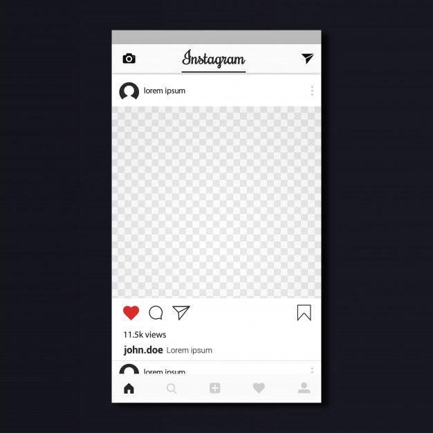 Instagram Template Design Premium Vecto In 2019