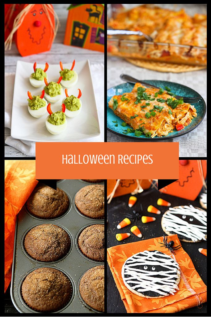 Fun Halloween Savory  Sweet Recipes Sweet recipes, Snacks and Dinners - halloween food ideas for party