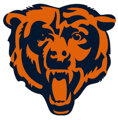 bears logo printable art free pinterest bear logo bears and rh pinterest com Chicago Bears Logo Coloring Page chicago bears logo pictures download