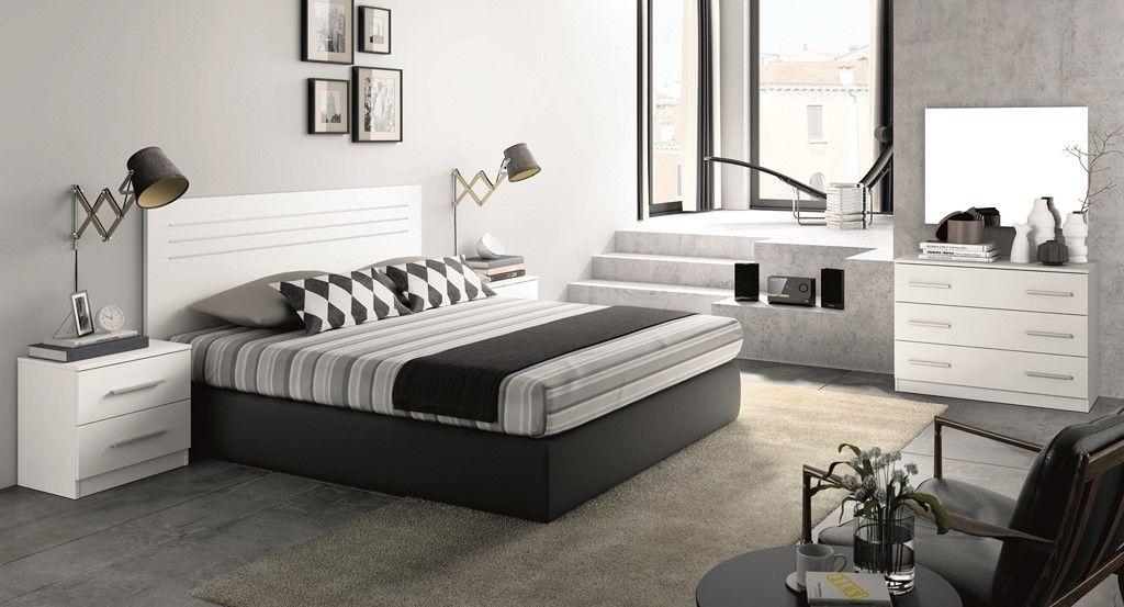 Dormitorio Matrimonio Blanco Con Mesitas Comoda Y Espejo Home Decor Bedroom Design Furniture