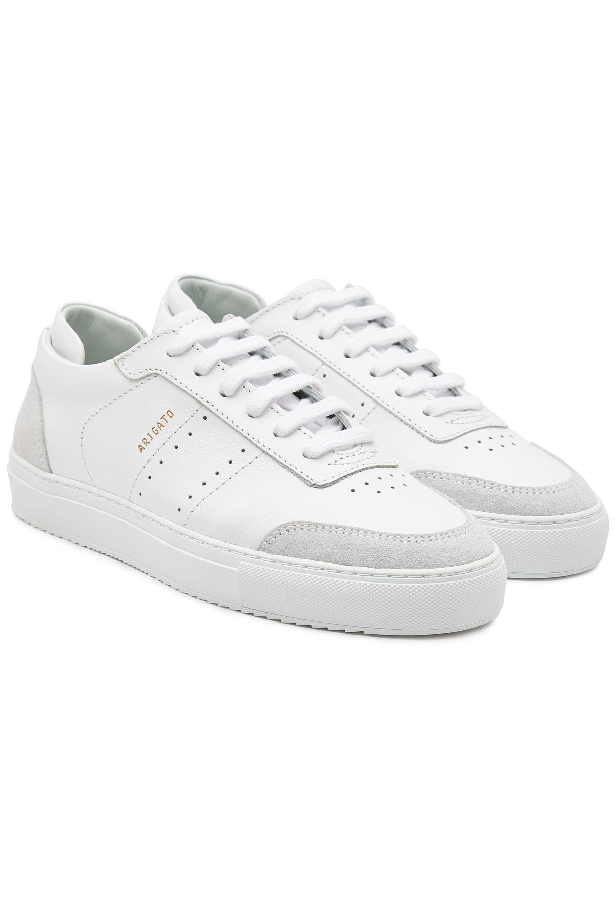 Axel Arigato Dunk Leather Sneakers In