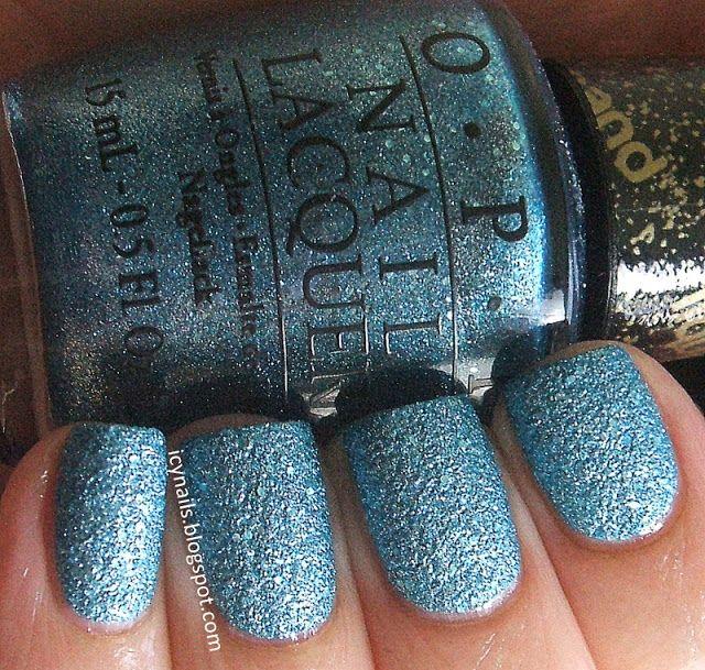 OPI Tiffany Case Review and Photographs Nail polish