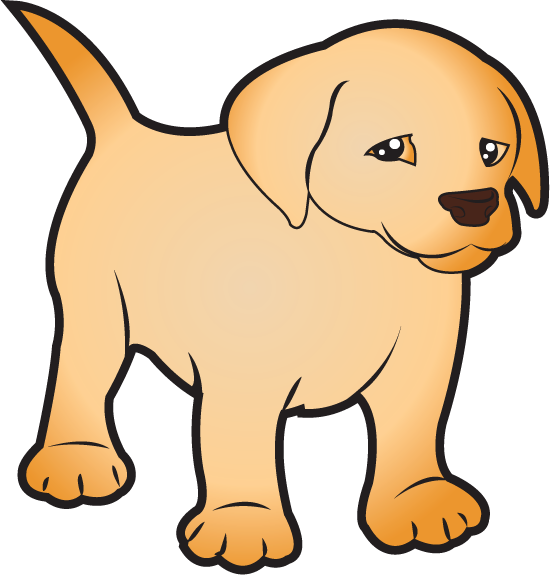 Free Clip Art Animals Pets Puppy Labrador Full Color Puppy Clipart Puppies Puppy Care