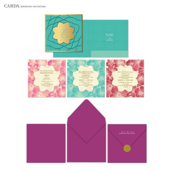 CARDA Offers Online Designer Wedding Cards Royal Invitations Indian Personalized