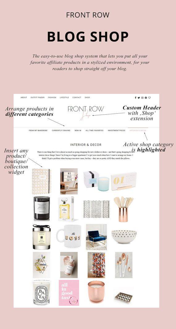 WordPress Theme for Fashion Bloggers / \