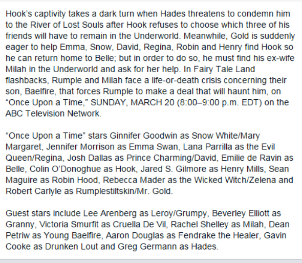 """Lucifer Once Upon A Time: Synopsis - 5 * 14 """"Devil's Due"""""""