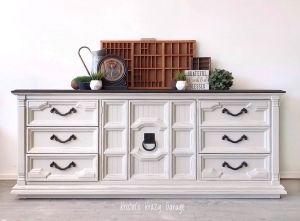 Reverent Gray Buffet #indoorpaintcolors