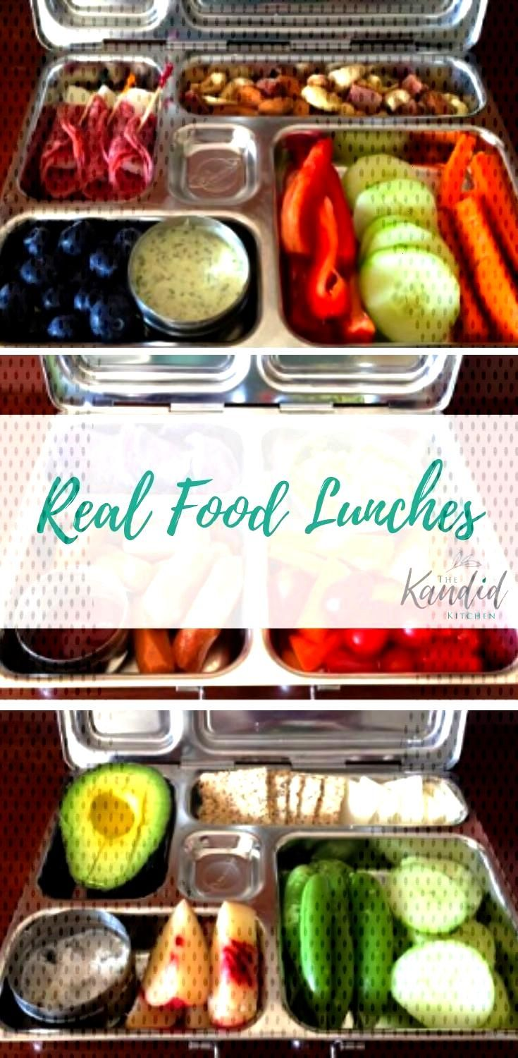 Real Food Back to School Lunch Ideas Searching for lunches to send with the kids for school? Beth h