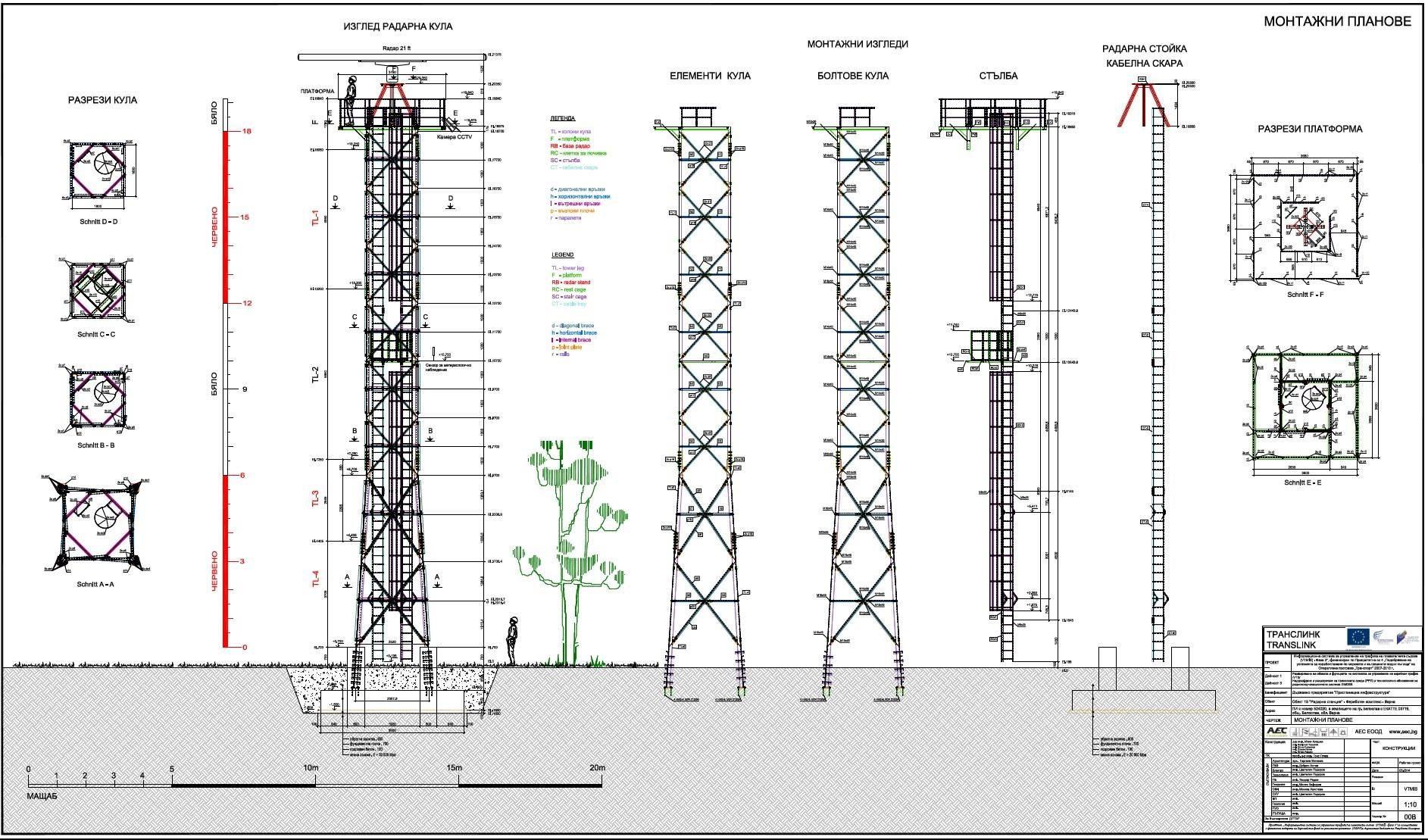 Lattice Tower - Translink Telecomunication Towers - Shop