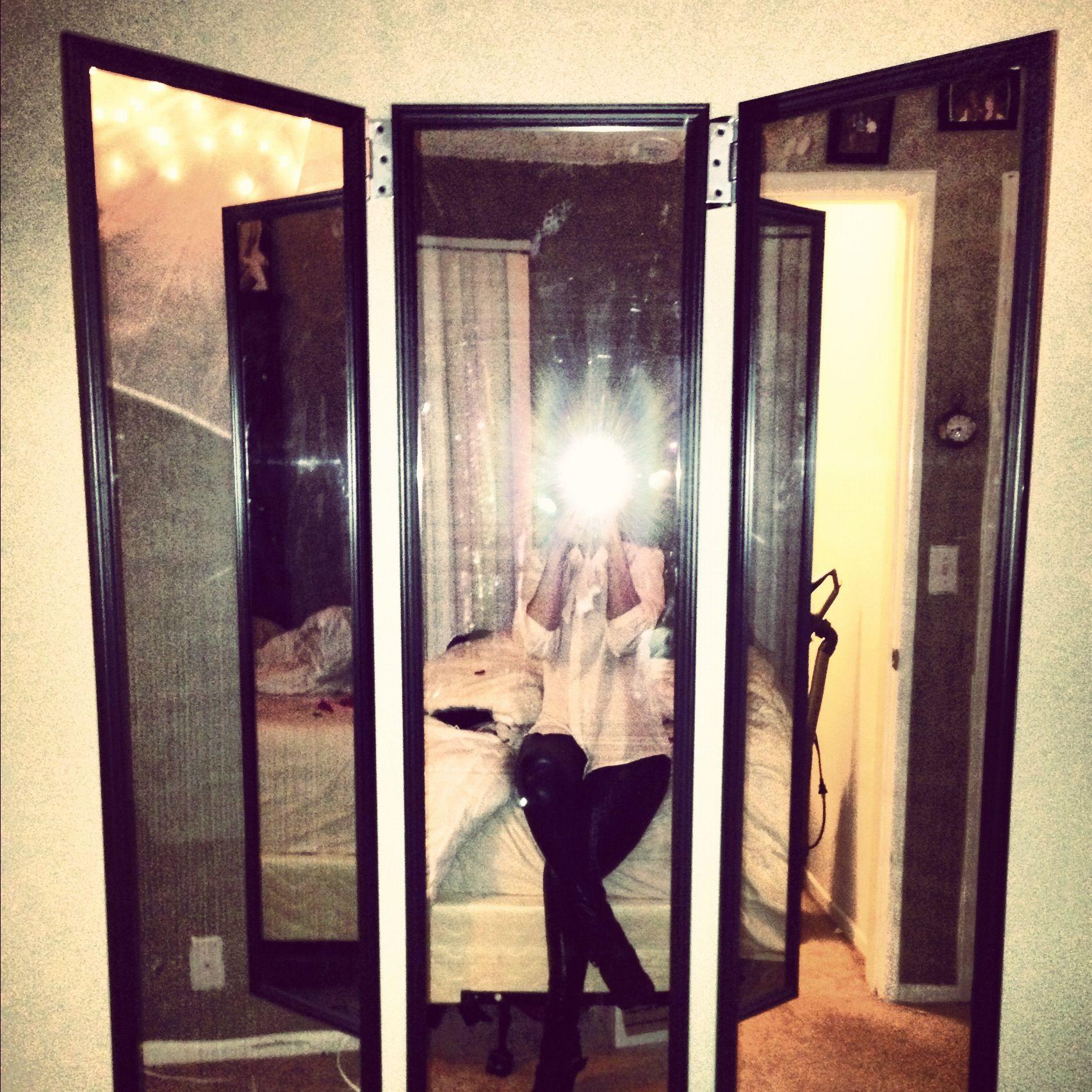 Full length 3 way mirror - Successful Three Way Mirror Super Easy 3 Cheap Full Length Mirrors 4 Door