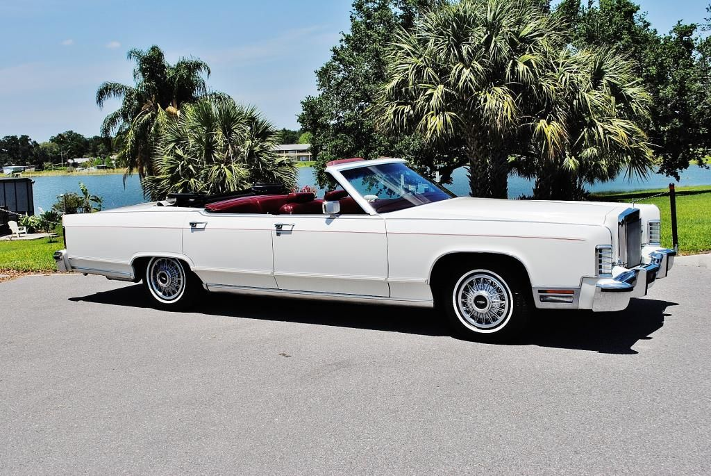 1977 Lincoln Town Car Convertible Very Rare Ford Motor Company