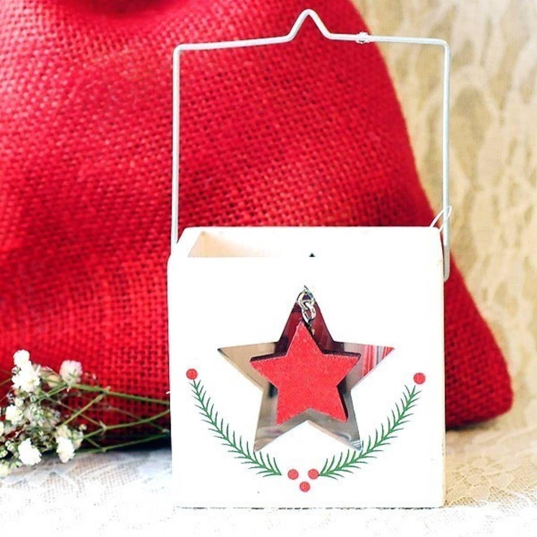 Farolillos y soportes para velas de decoraci n y adornos navide os - Farolillos para velas ...
