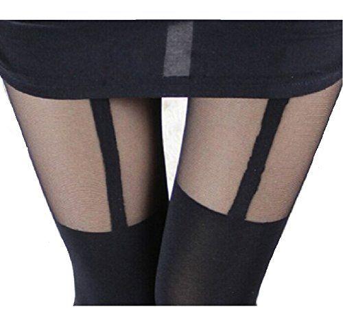 AM Landen®Super Sexy Elegant Mock Tights Tatoo Pantyhose(Black/Black Garter) AM Landen http://www.amazon.com/dp/B00G3TE6PW/ref=cm_sw_r_pi_dp_z4Tlvb00HYZYM