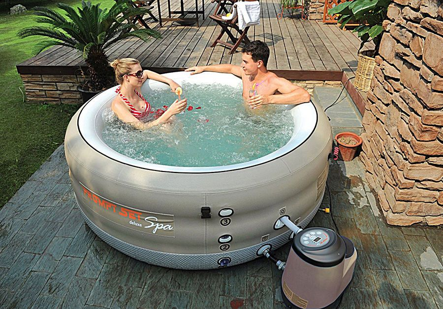 How To Repair An Inflatable Hot Tub Puncture Portable Hot Tub Inflatable Hot Tubs Best Inflatable Hot Tub