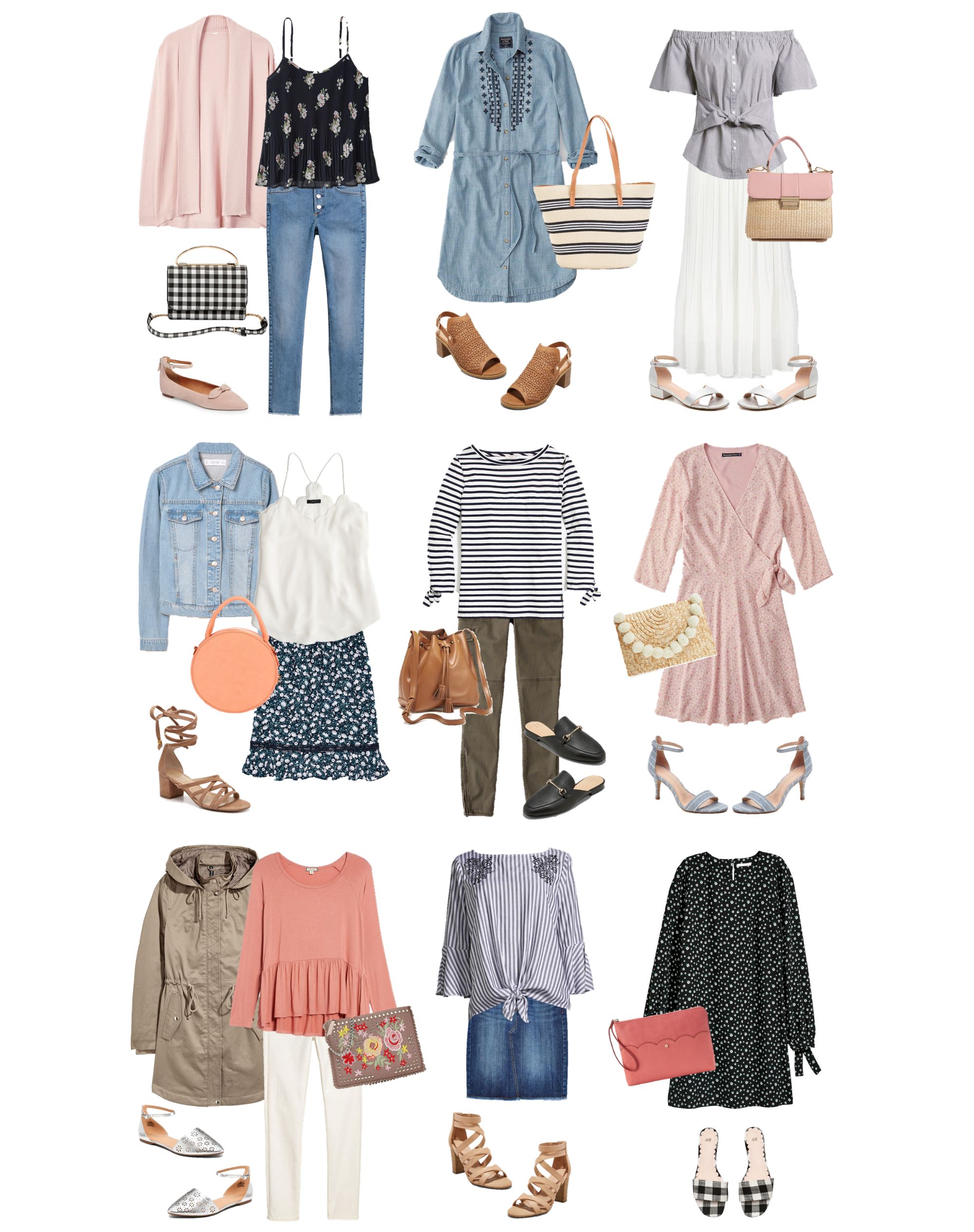Spring Outfit Ideas Every Piece Is Under 30 Spring Outfits Clothes For Women Spring Fashion