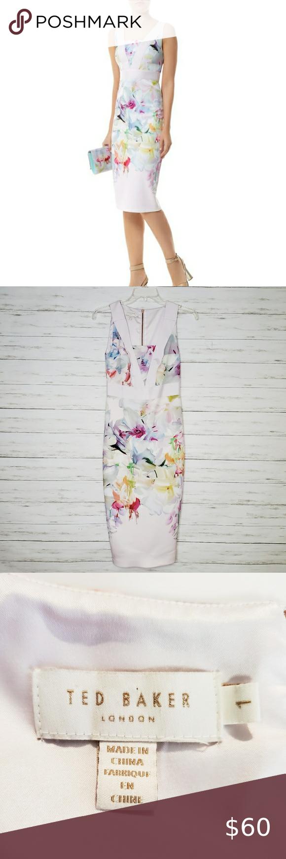 980878b52a9315c972dfe5c7938a02cb - Ted Baker Arienne Hanging Gardens Dress