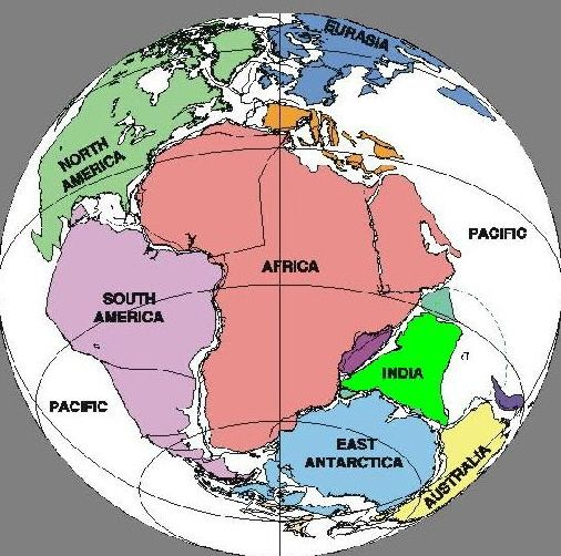 map of all continents together Pangaea Theory A Remonstrance Plate Tectonics Map History map of all continents together