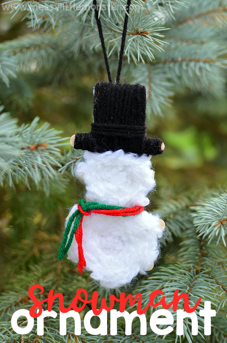 Yarn Wrapped Snowman Ornaments Christmas Ornaments To Make Diy Snowman Ornaments Snowman Crafts