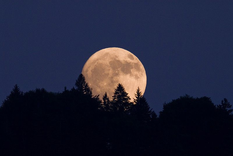 первую фото с луной прикольные душе всегда пусть