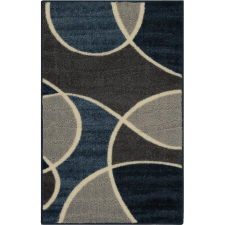 Better Homes And Gardens Geo Waves Textured Print Area Rug Or