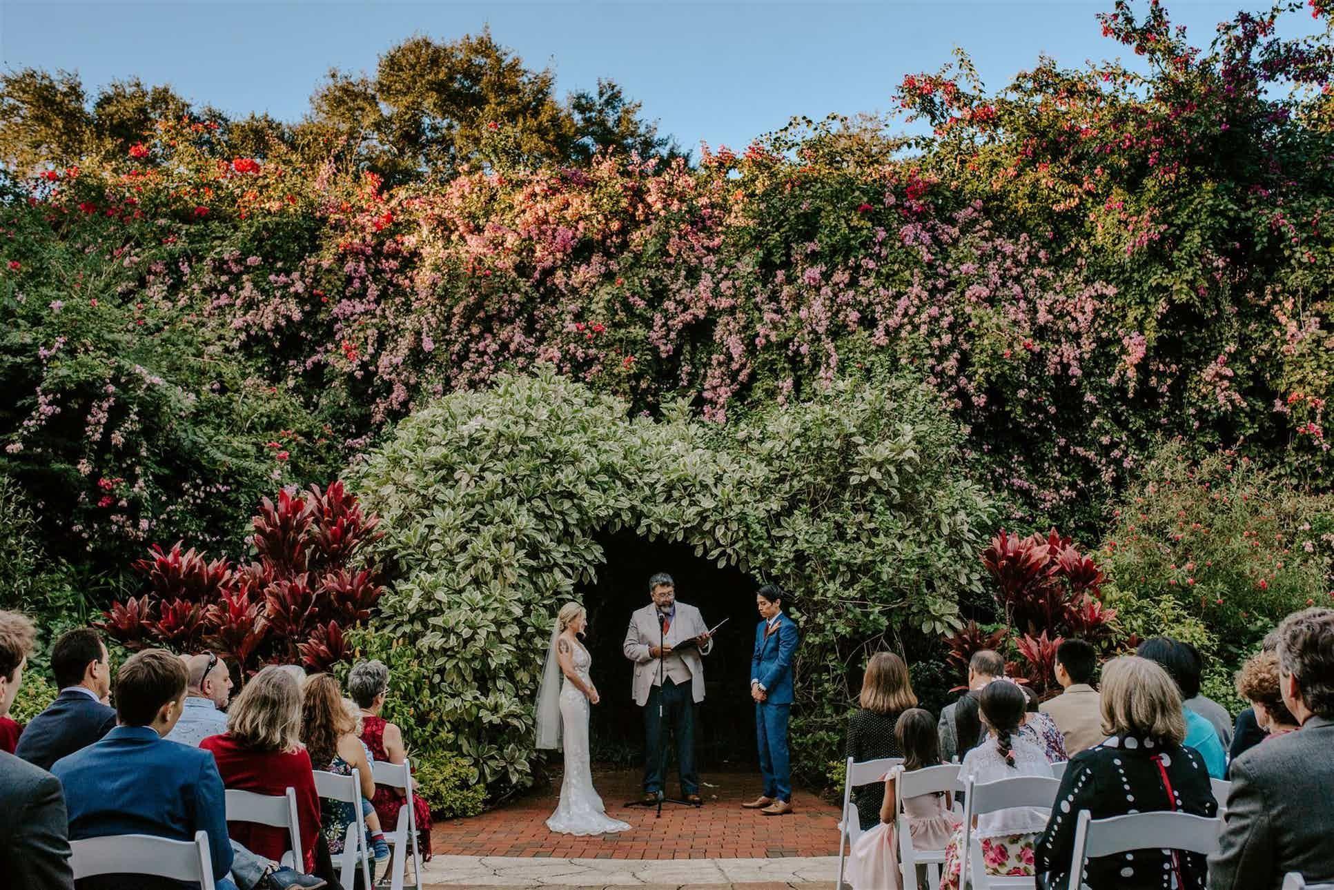Sunken Gardens Weddings Tampa Bay Wedding Venue St