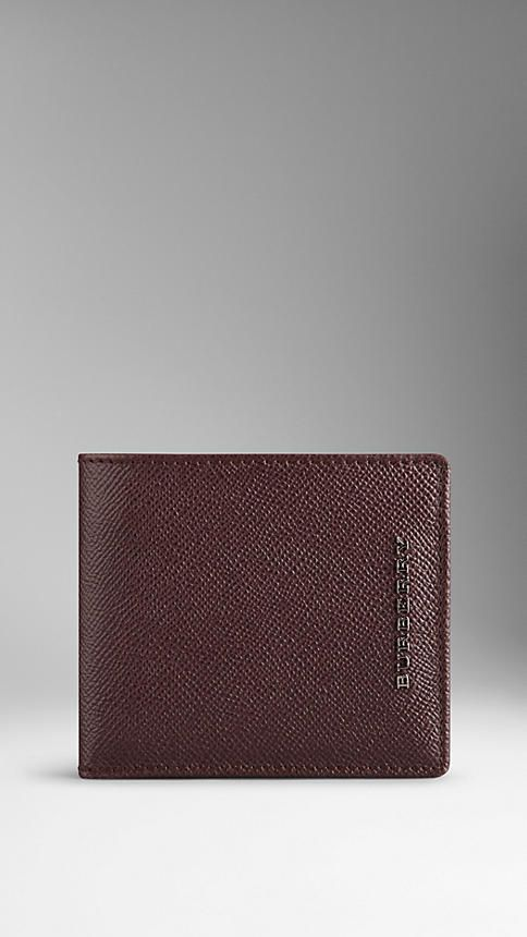 London Leather Folding Wallet | Burberry