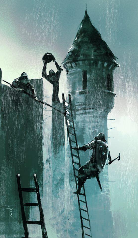 Siege Ladder : siege, ladder, Siege, Ladder, Frank, Victoria, Fantasy